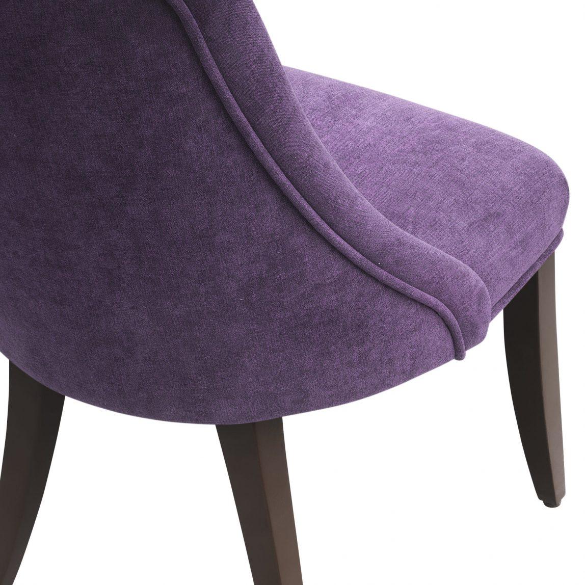 дизайнерский маленький мягкий стул Ким