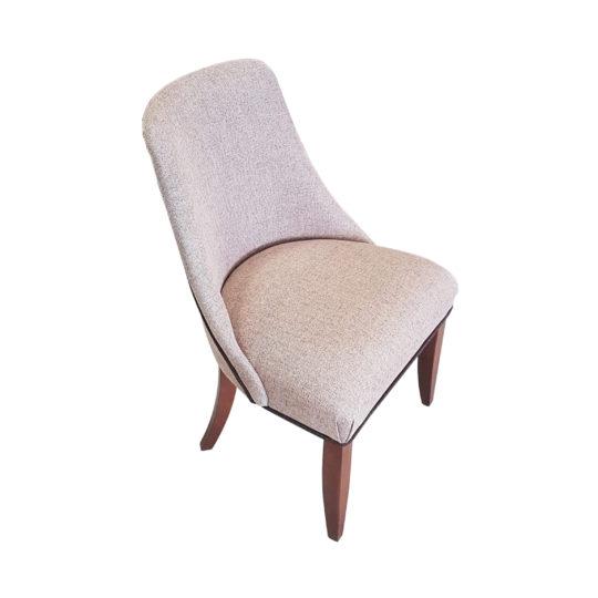 Небольшой стул текстиль