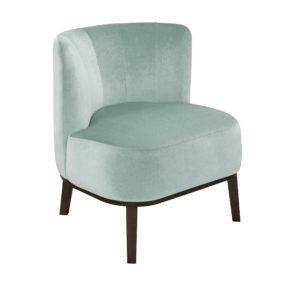 Ар-деко будуарное маленькое кресло