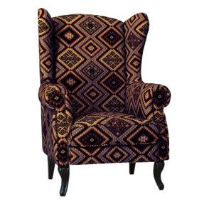 английское кресло в английском стиле вольтеровское кресло каминное кресло с ушами