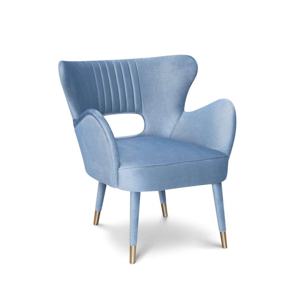 Лавсит кресло латунь