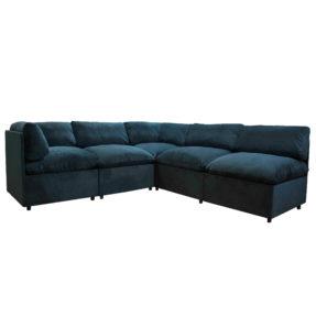 большой мягкий диван из секций