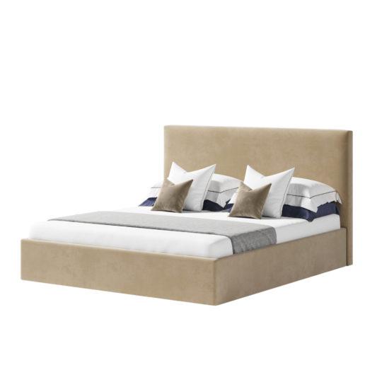 LAVSIT_Kent_modern_double-bed_krovat_barhat_velvet_beige_axon_01