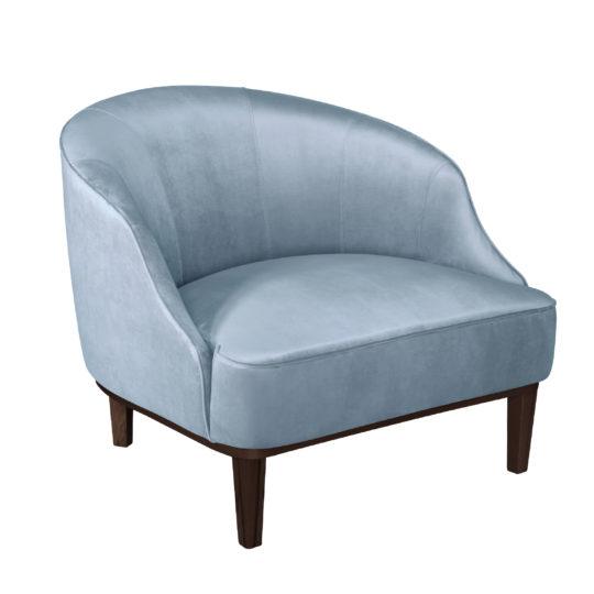 Арт деко низкое кресло