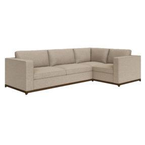 Угловой глубокий стильный диван