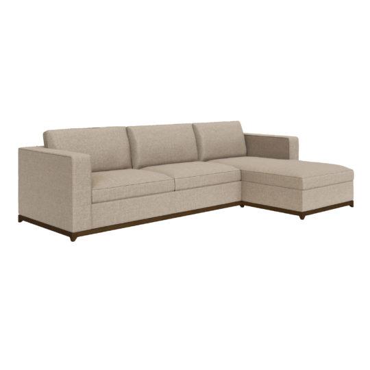 Угловой диван в американском стиле