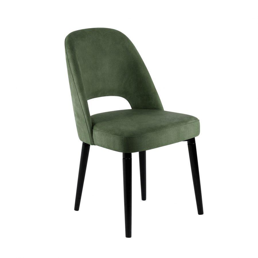скандинавский стул зеленый