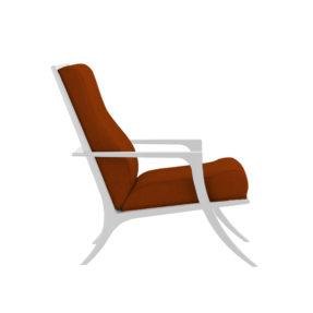 кресло с деревом мягкое