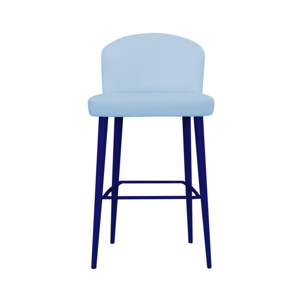 высокий стул с перекладиной
