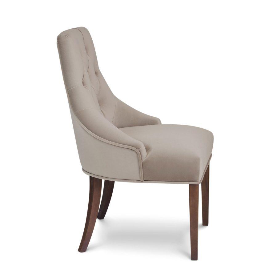 обеденный стул с каретной стяжкой