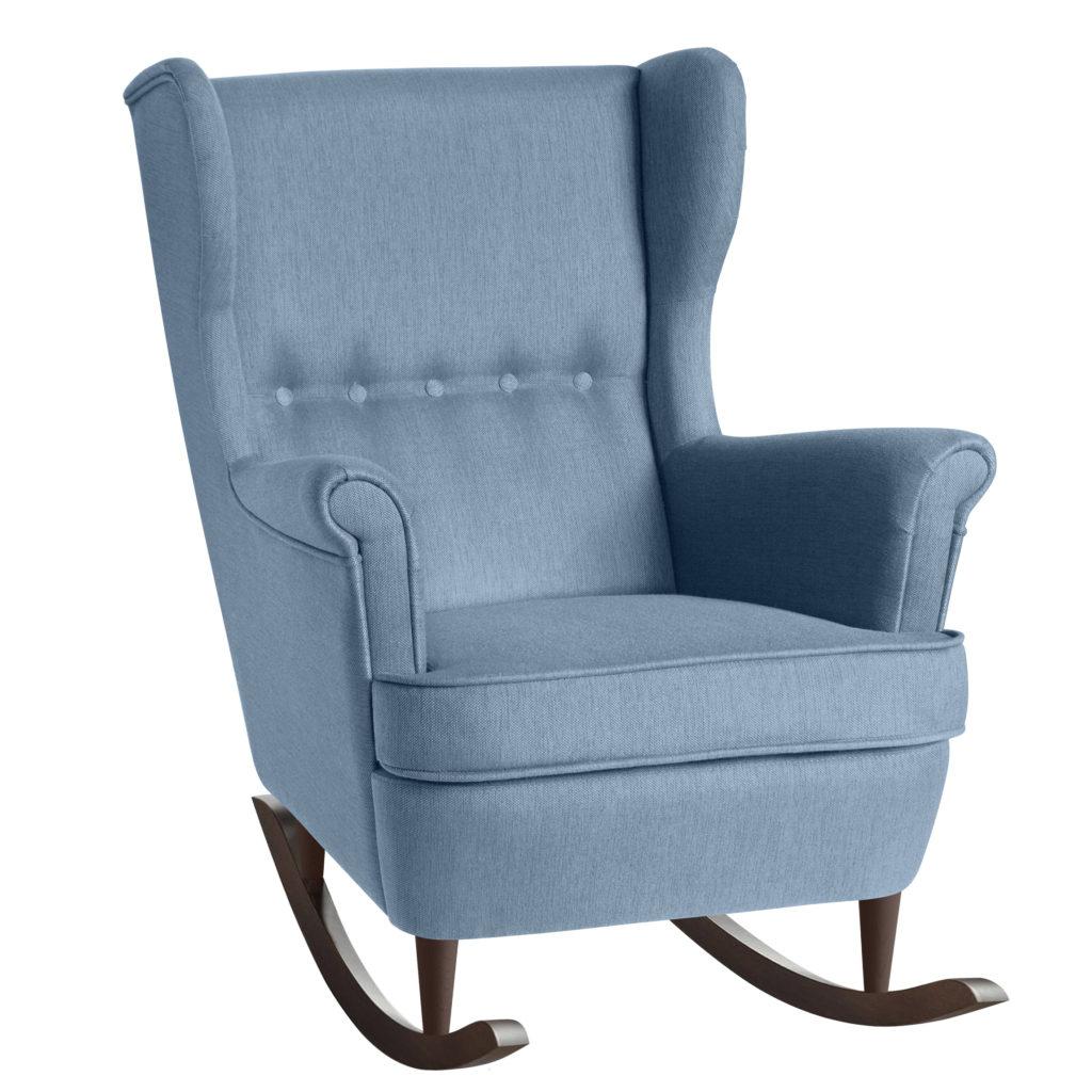 Страндмон кресло-качалка с высокой спинкой с ушами икеа ikea strandmon