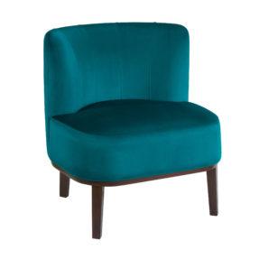 Ар-деко будуарное маленькое мягкое кресло