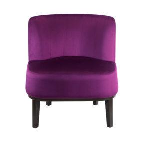 Ар-деко будуарное маленькое кресло для лоджии