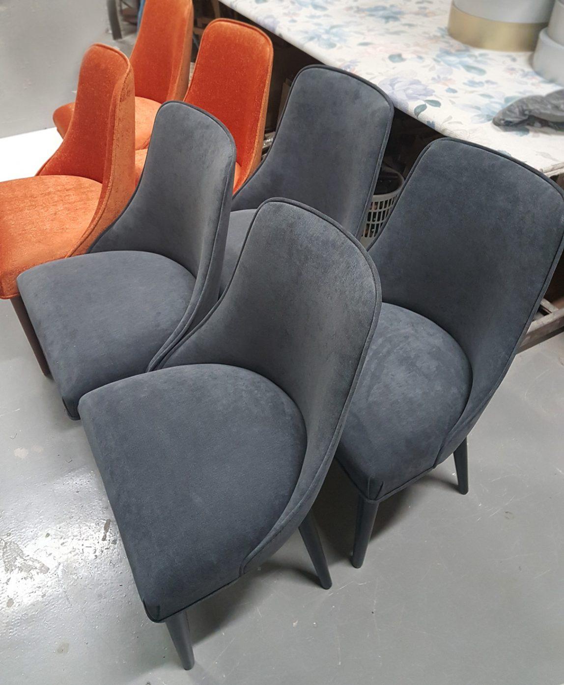 Лавсит маленькие мягкие обеденные стулья