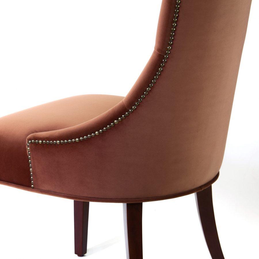 отделка стула Жорж