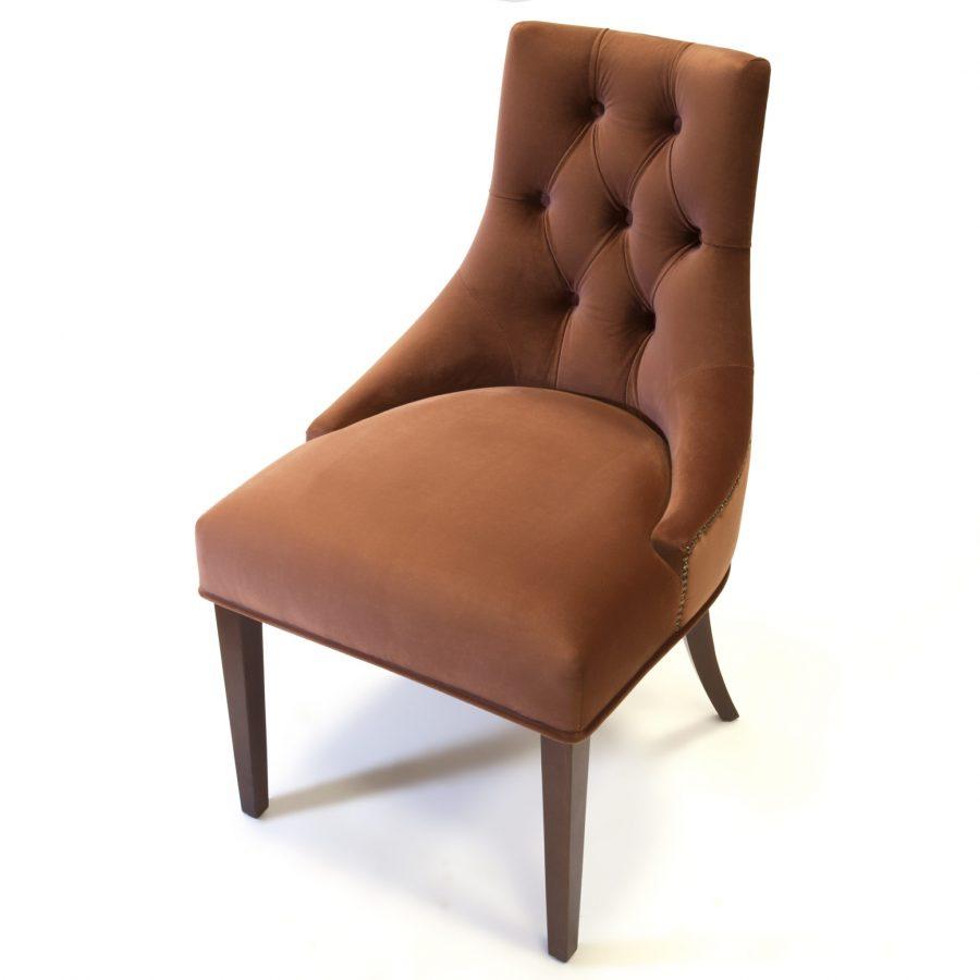 Мягкий стул с капитоне Жорж