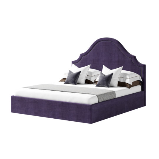 LAVSIT_Dastin_art-deco_american_style_double-bed_krovat_barhat_purple_closed_axon_v1
