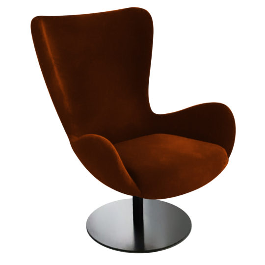 LAVSIT_Edwin_modern_lounge-chair_sovremennoe_kreslo_orange_axon_v1