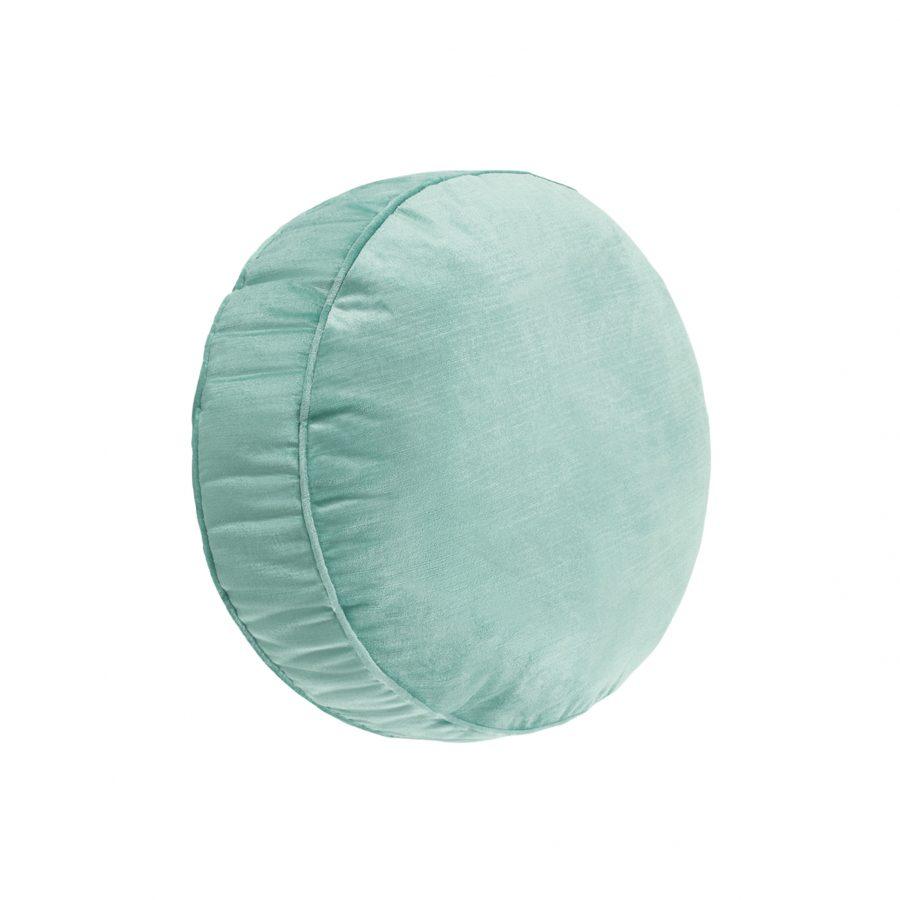 Круглая декоративная подушка на заказ
