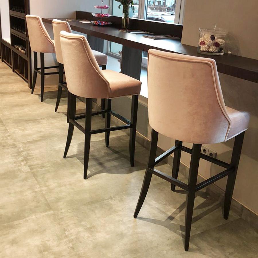Барные мягкие стулья на заказ