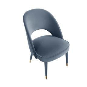 Купер современный стул с латунными наконечниками