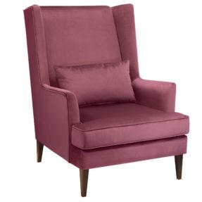 высокое кресло с ушами американский стиль