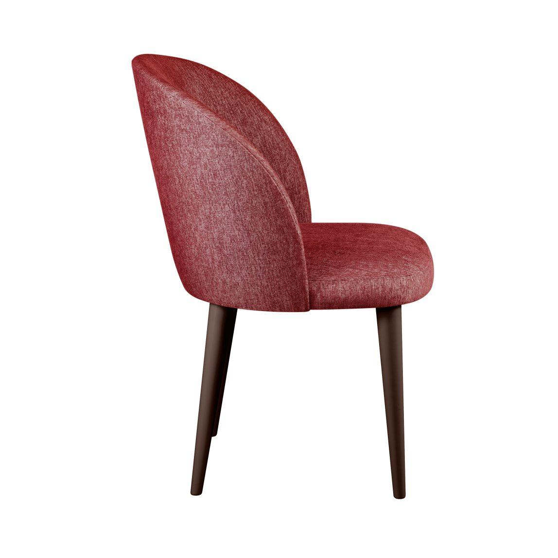 Современный стул жаккард деревянные ножки