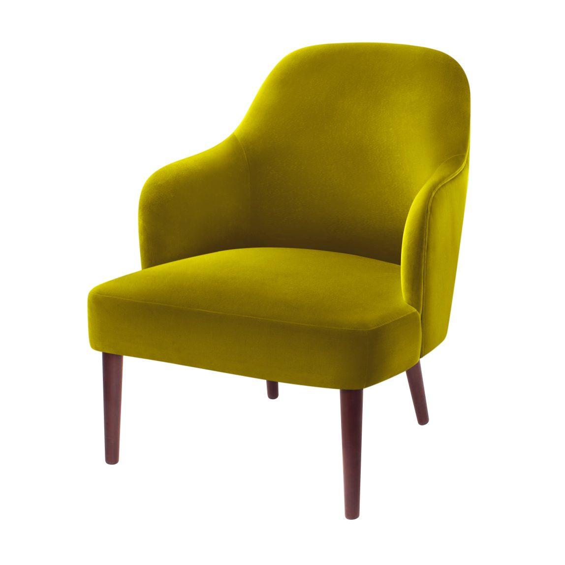 Мягкое компактное кресло Франк в современном стиле