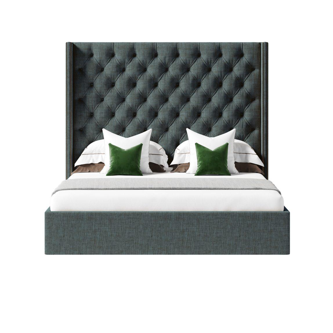 кровать с мягким изголовьем Фрэнсис