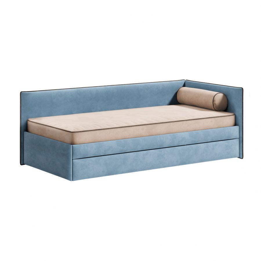 Детская кровать Берт с одним бортом