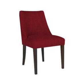 Красный мягкий стул для кухни