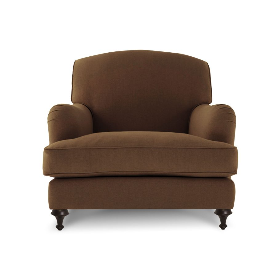 Мягкое кресло Оливер в стиле mid-century