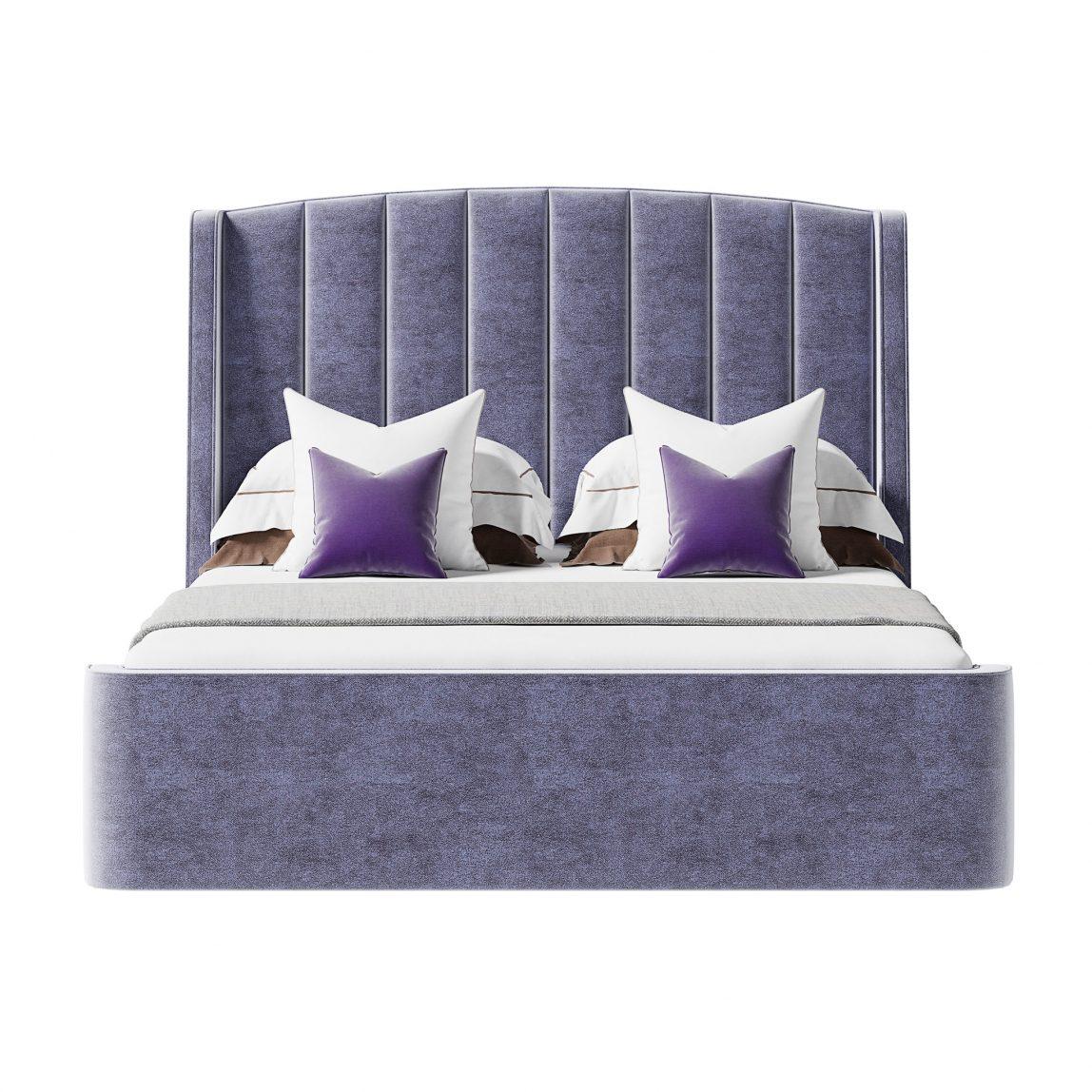 кровать Фабьен в стиле ар-деко
