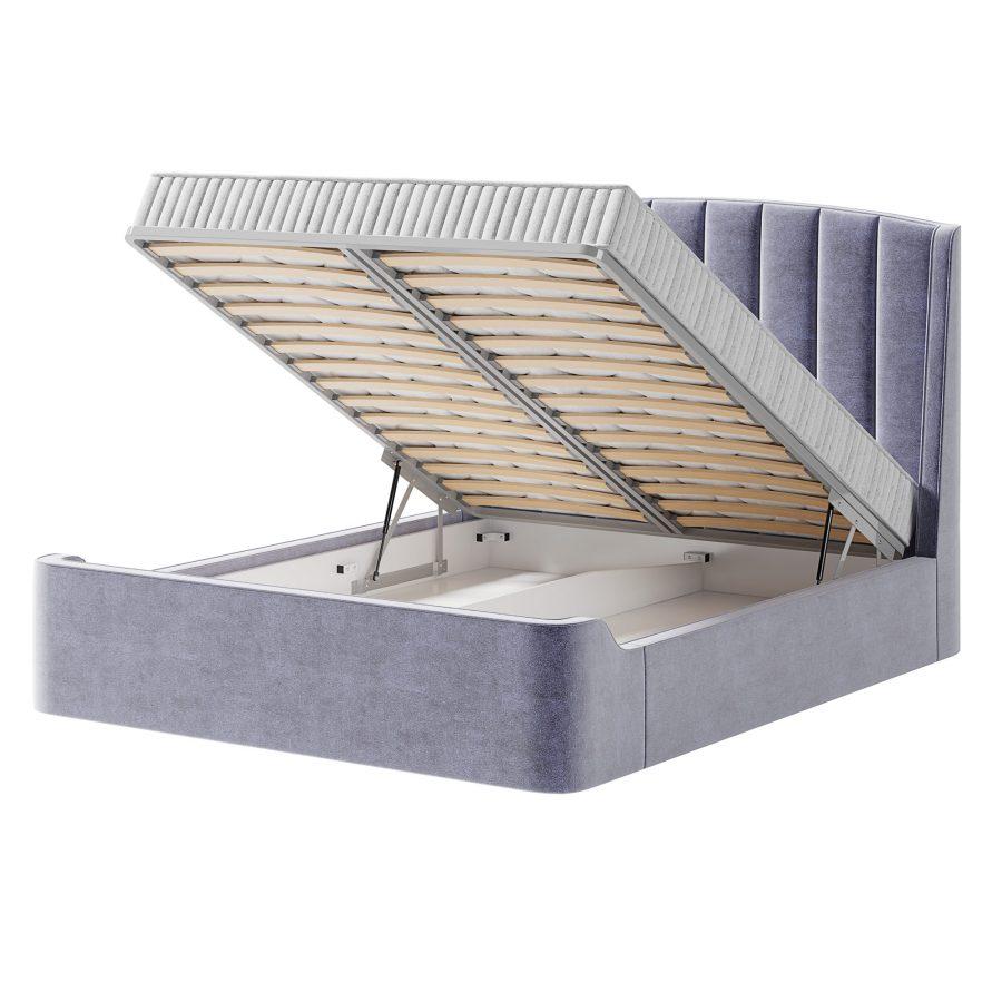 Кровать Фабьен с ортопедической решеткой с пневматическими подъемниками