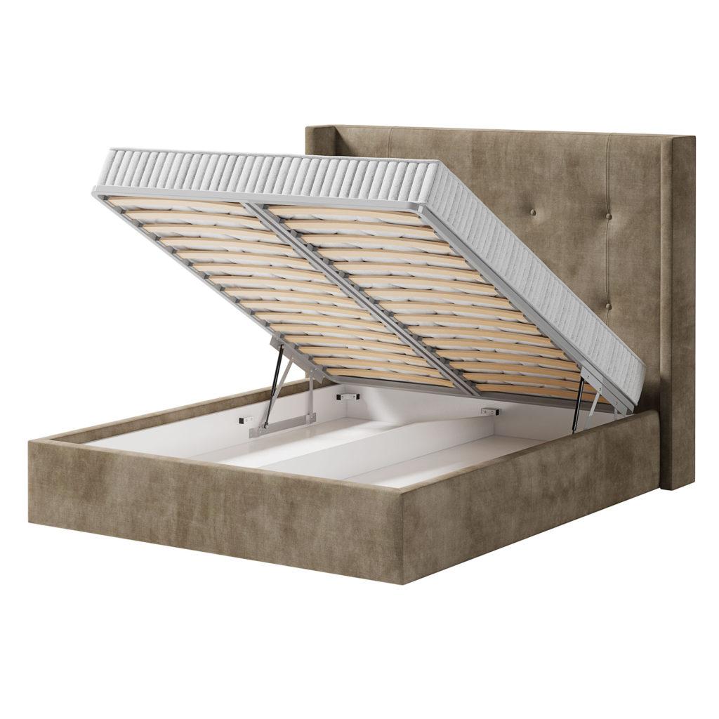кровать Норман с ортопедической решеткой с подъемным механизмом