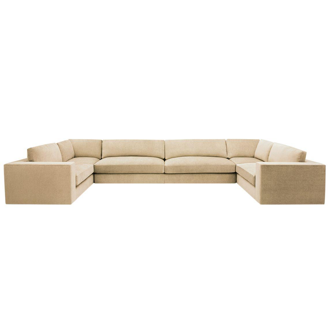 Глубокий мягкий диван Палмер в современном итальянском стиле