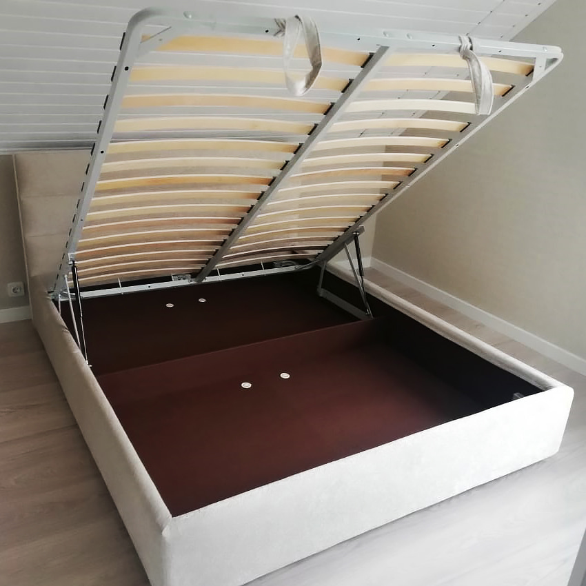 Бельевое дно и ортопедическая решетка кровати Колин