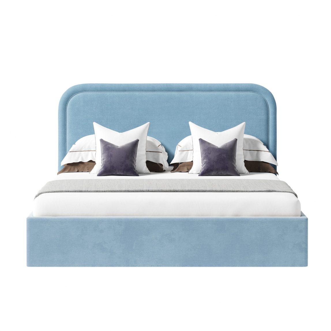 Мягкая кровать Лукас