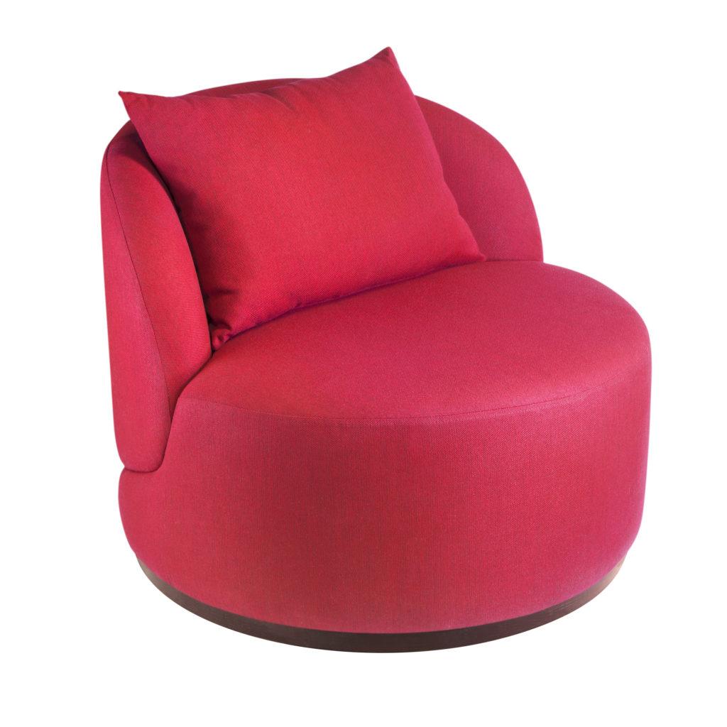 Круглое лаунж кресло Зефир