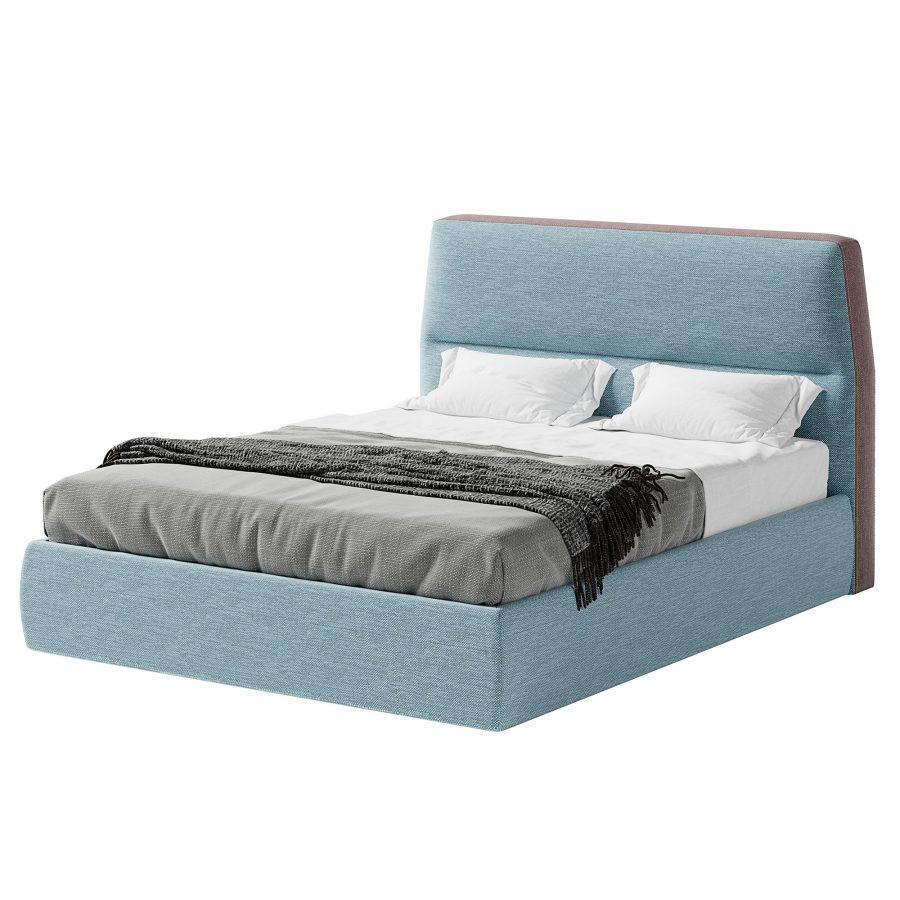 Кровать с изголовьем Нолан
