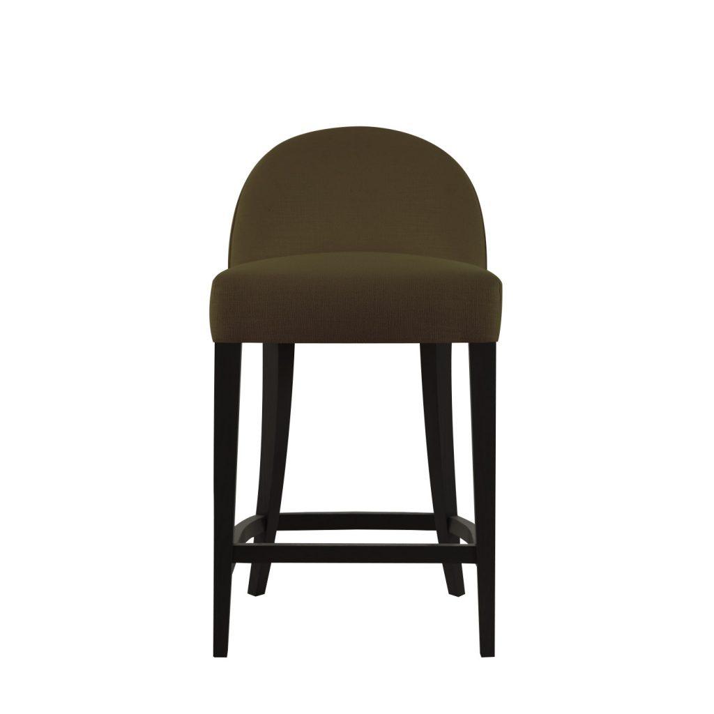 Барный мягкий стул Остин в стиле ар-деко