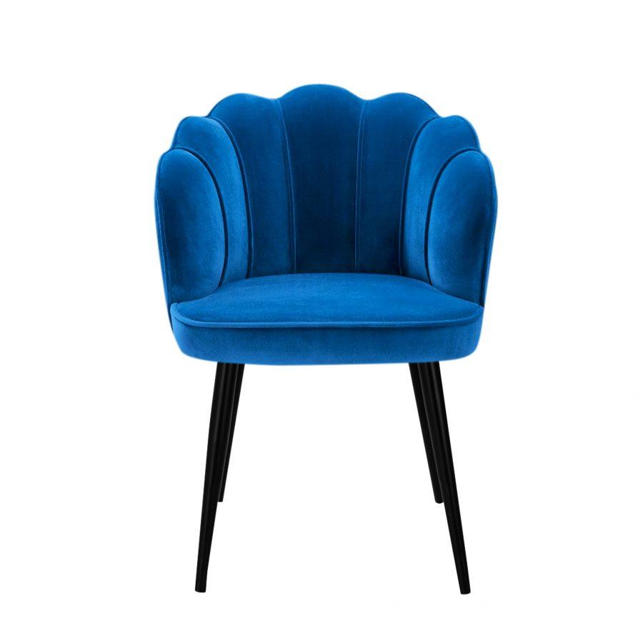 изящный стул Фальк с подлокотниками и деревянными ножками