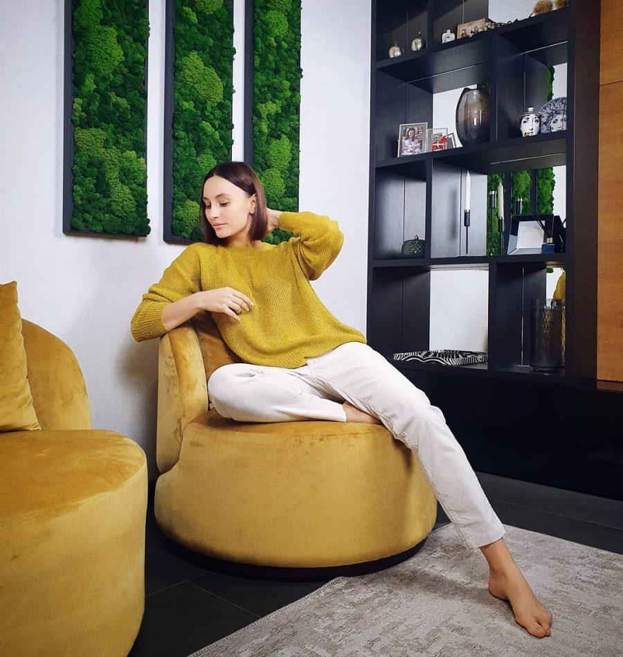 дизайнерское мягкое кресло