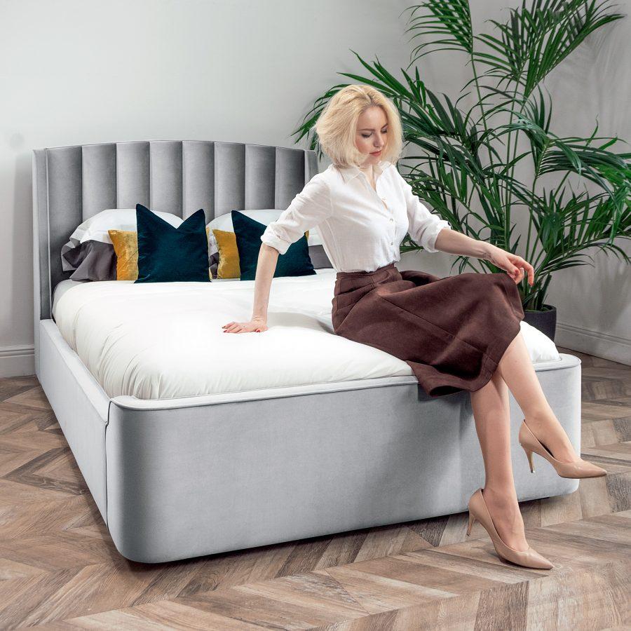 кровать Фабьен в интерьере