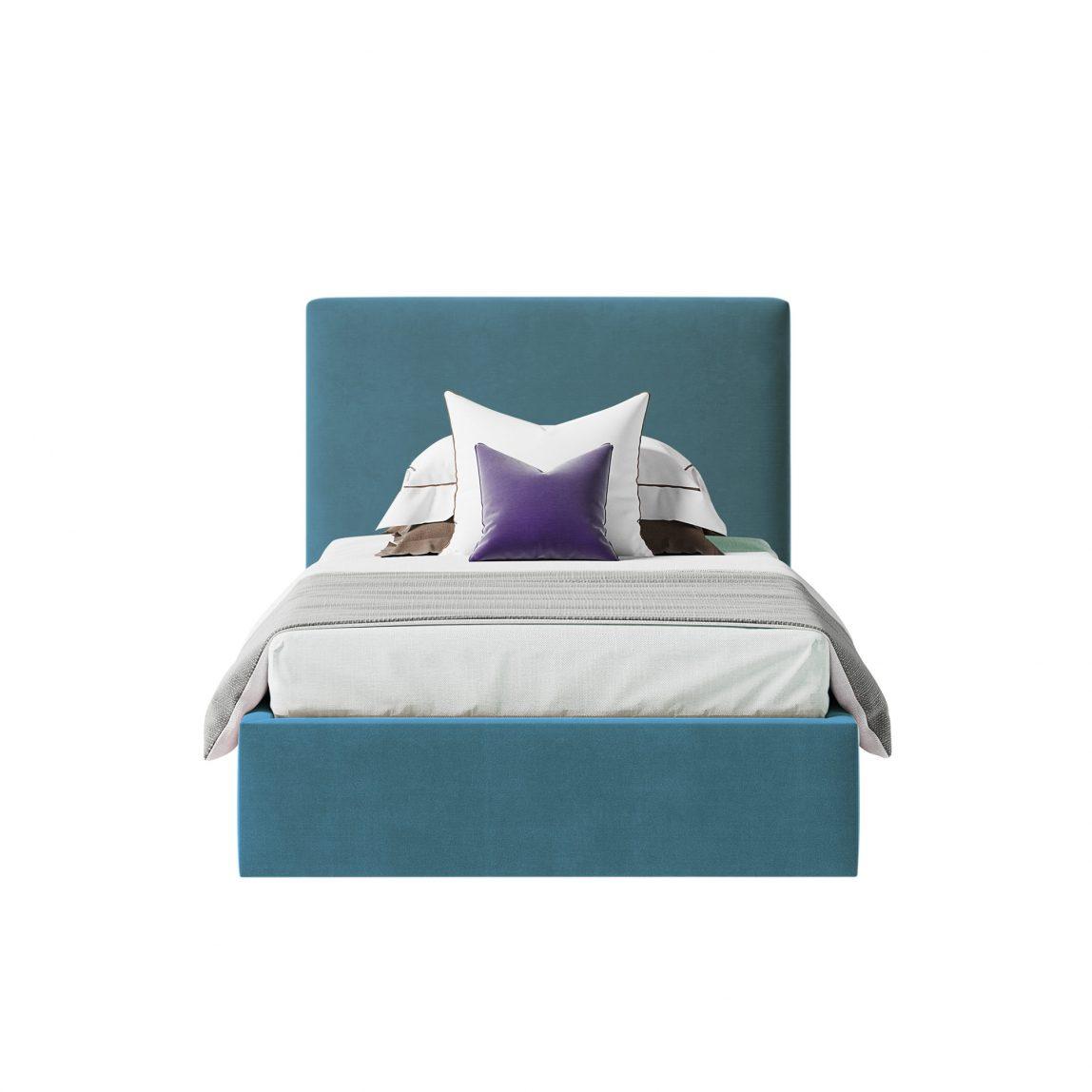 Кровать Кент с высоким стильным изголовьем