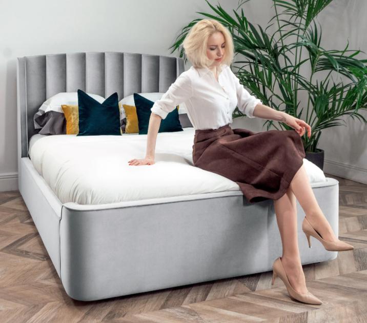 Дизайнерская кровать Фабьен