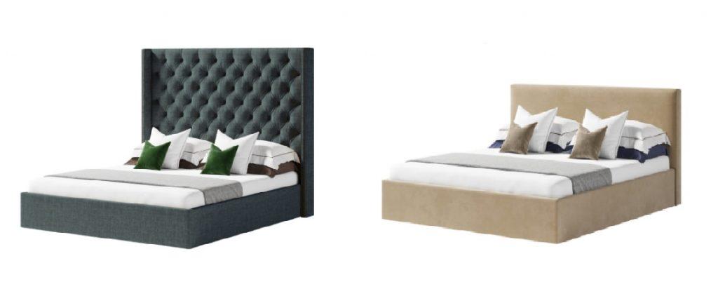 выбираем размер высоты изголовья для кровати
