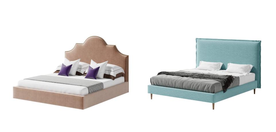 выбираем кровать на ножках или подиум