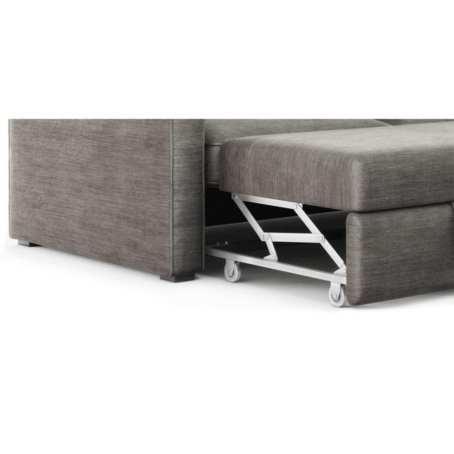 Механизм дельфин колеса диван